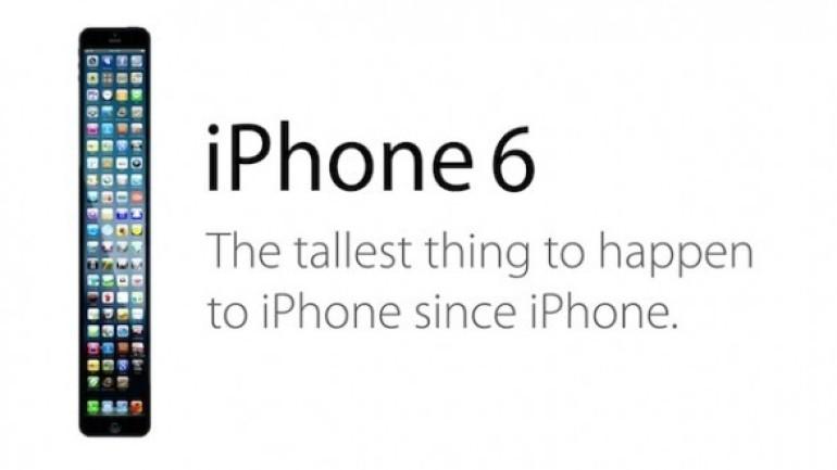 iPhone 6'ya dev ekran!