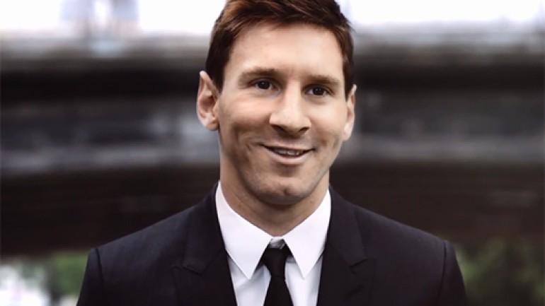 Messi, Galaxy Note 3 için kamera karşısına geçti Video