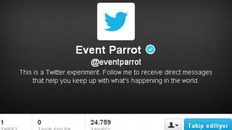 Twitter, direkt mesaj ile flaş haber gönderecek