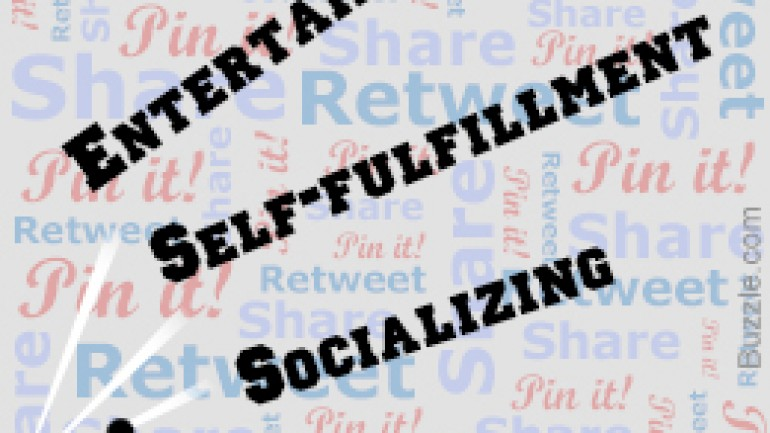 What Motivates People to Share Online?