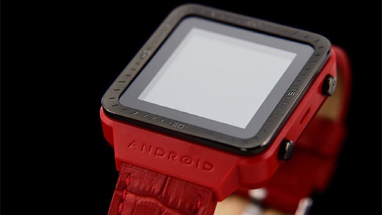 Android kullanıcılarına özel yeni akıllı saat Video
