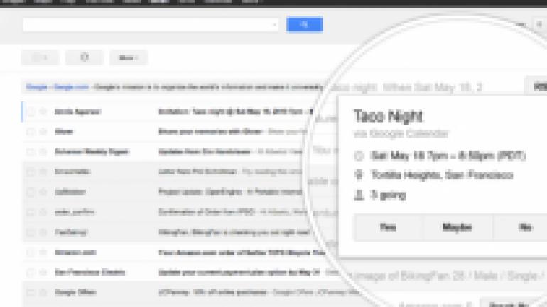 Gmail hızlı eylem düğmelerine yenilerini ekliyor