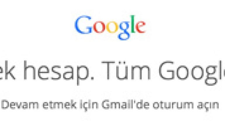 Gmail yeni tasarımı ile yeni kullanıcı giriş sayfasını test ediyor