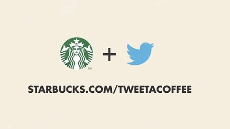 Starbucks'tan tweet ile kahve ısmarlamak artık mümkün Video
