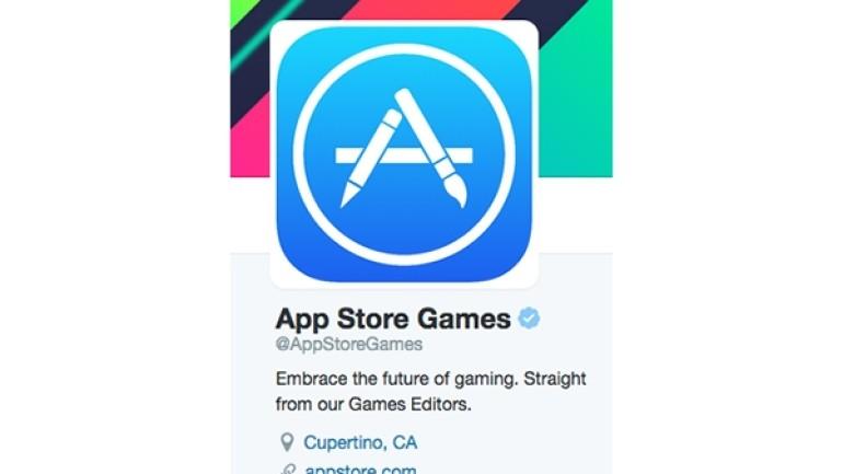 Apple'dan oyunlara özel Twitter hesabı