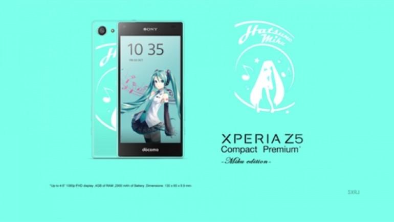 Full HD ekranlı Sony Xperia Z5 Compact Premium Japonya'ya gidiyor