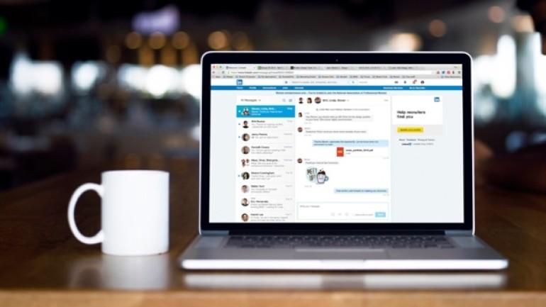 LinkedIn'e anlık mesajlaşma özelliği eklendi
