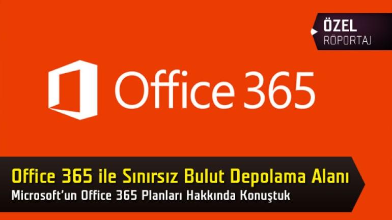 Microsoft Office 365'te herkese sınırsız bulut depolama alanı