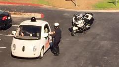 Google'ın otonom aracına polis müdahalesi