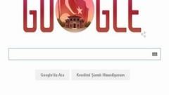 Google'dan 29 Ekim Cumhuriyet Bayramı 'doodle'ı