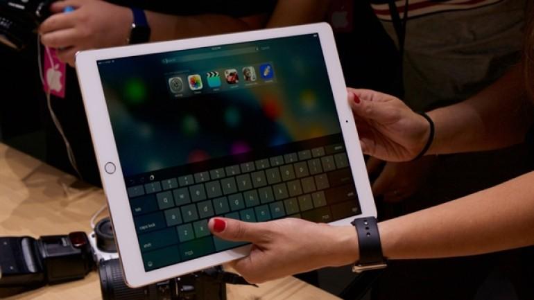 iPad Pro'larda beklenmedik hata