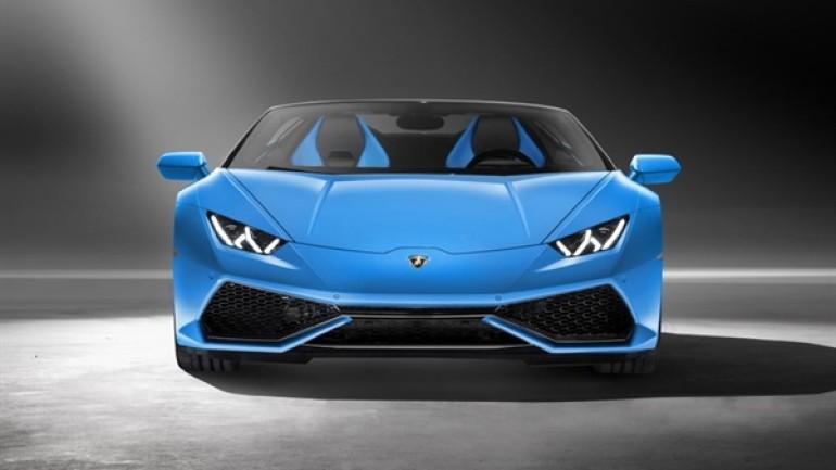 O bile ekonomi peşinde, 2016 Lamborghini Huracan