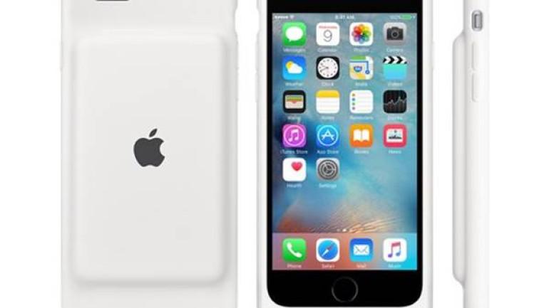 """Apple'dan iPhone 6 ile 6s sahiplerine """"batarya"""" takviyesi"""