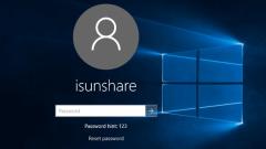 Windows 10 Parola kaldırma