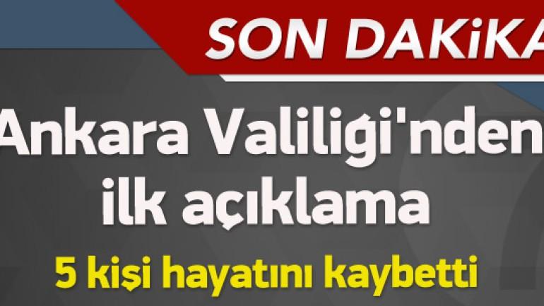 Ankara Kızılay daki Patlamada 28 Kişi hayatını Kaybeti