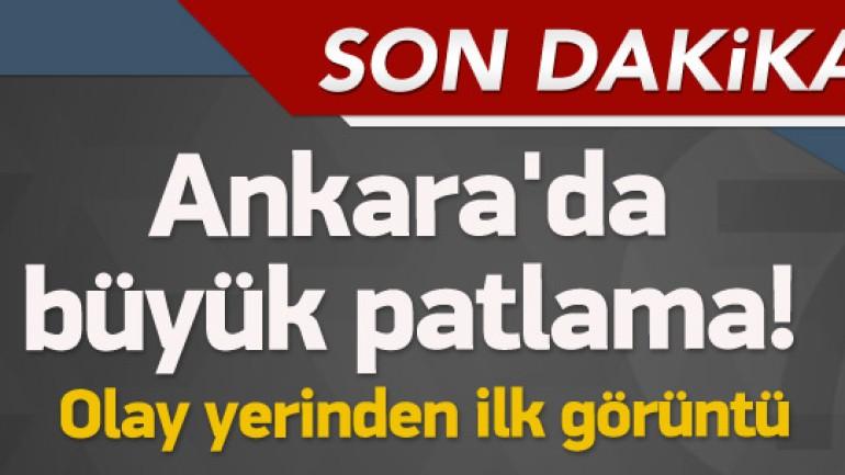 Ankara Kızılay da Patlama