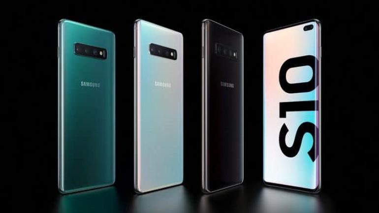 Galaxy S10, S10+, S10e tanıtıldı.