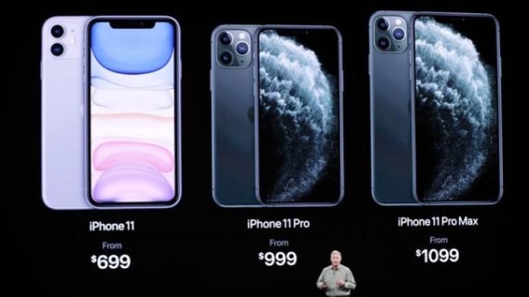 iPhone 11 modellerinin Türkiye satış fiyatı belli oldu: iPhone 11 Pro Max, 12 bin 500 lira