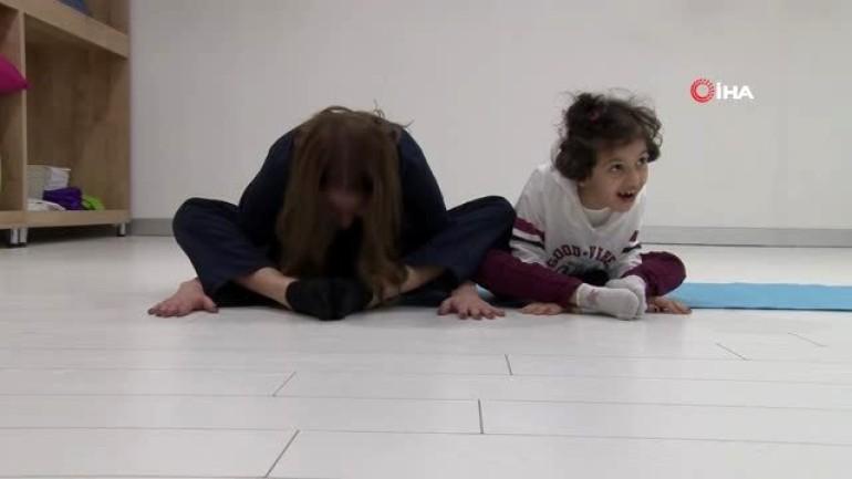 Çocuklar eğlenirken sağlıklarına kavuşuyor