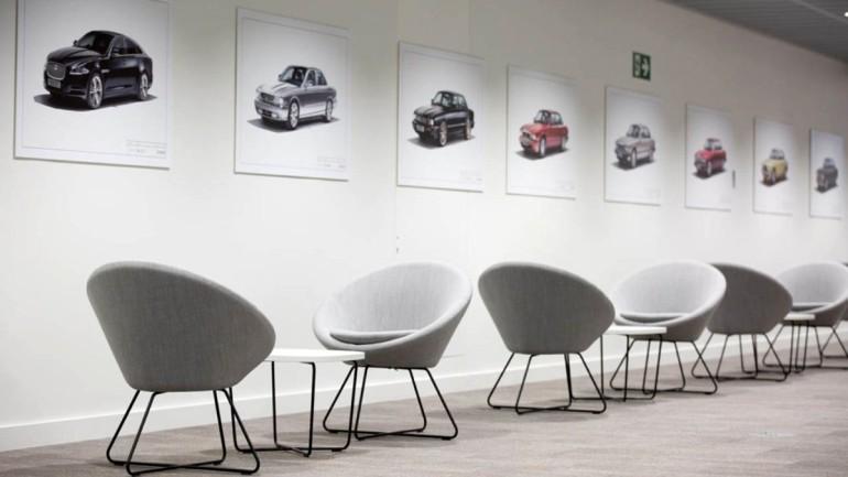 Jaguar'ın yeni tasarım stüdyosu kapılarını açtı