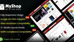 MyShop v1.0 – Top Multipurpose OpenCart 3 Theme