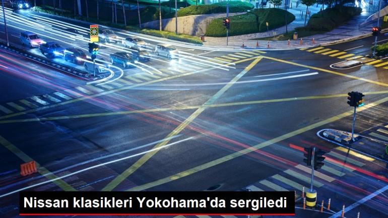 Nissan klasikleri Yokohama'da sergiledi