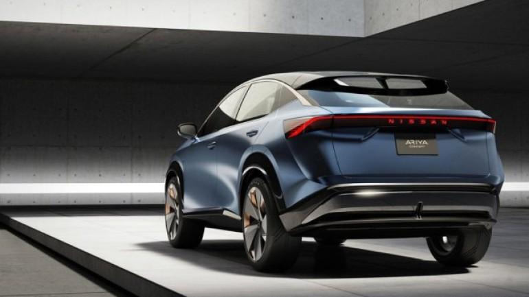 Nissan'dan elektrikli crossover: Ariya Concept