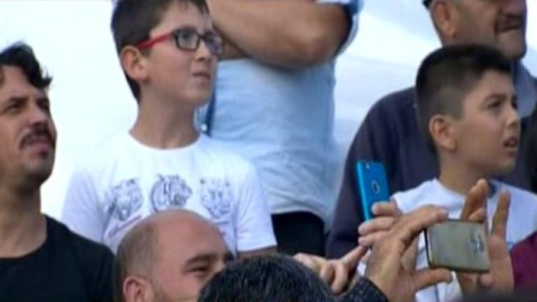 Solo Türk'ün TEKNOFEST'te yaptığı gösteri uçuşu, izleyenlerin nefesini kesti