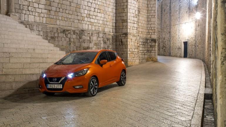Yenilenen Nissan Micra Türkiye yollarına çıktı