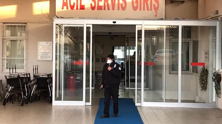 Son dakika: İstanbul'da Çinli çiftin sevk edildiği hastanede yoğun tedbir alındı
