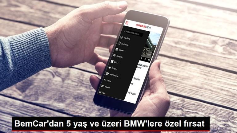 BemCar'dan 5 yaş ve üzeri BMW'lere özel fırsat
