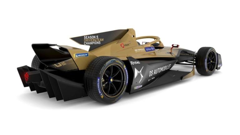 DS Techeetah'tan yeni otomobil tasarımı