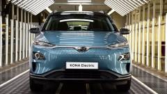Hyundai Kona Electric Avrupa'da üretime başlıyor