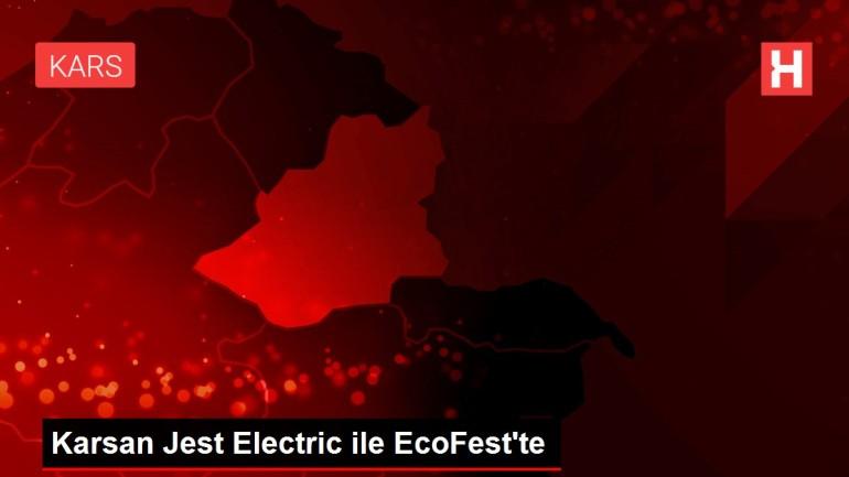 Karsan Jest Electric ile EcoFest'te