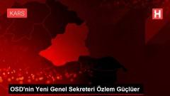 OSD'nin Yeni Genel Sekreteri Özlem Güçlüer