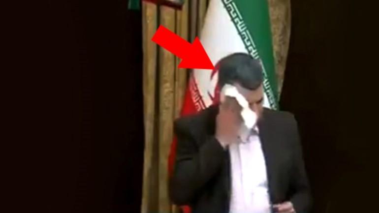 Son dakika: Koronavirüse yakalanan İran Sağlık Bakanı Yardımcısı'nın canlı yayında terlediği anlar ortaya çıktı