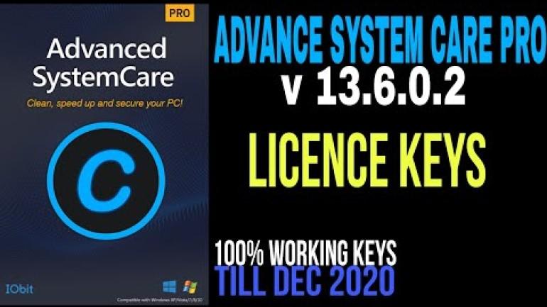 Advanced System Care Pro 13.6 Key