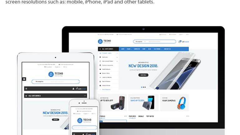 Techo – Minimalist Shopping Electronics Responsive PrestaShop 1.7 Theme