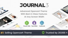 Journal v3.0.37 – Advanced Opencart Theme