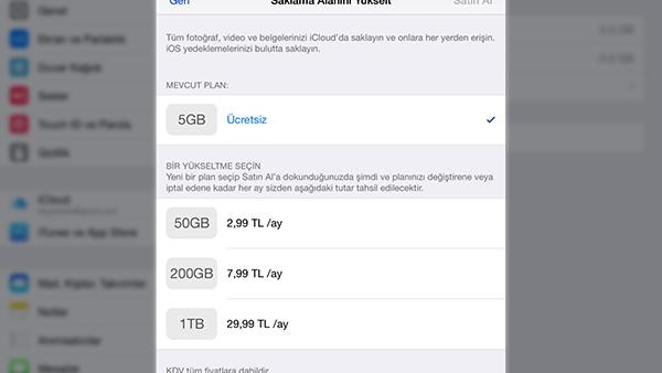 Apple, iCloud'un yenilenmiş fiyat ve depolama seçeneklerini hayata geçirdi