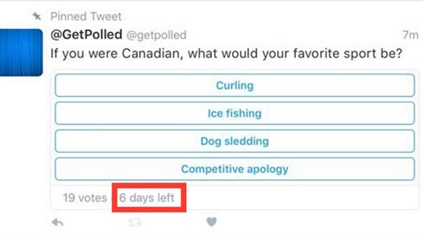Twitter'ın anket desteği genişliyor