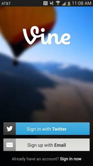 Twitter Vine artık Android'de
